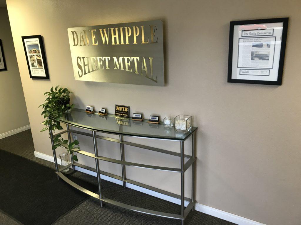 Dave Whipple Sheet Metal, Inc – Sheet Metal Fabricator