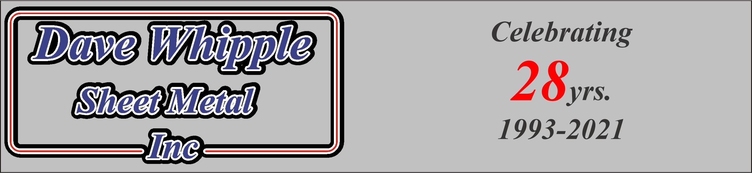 Dave Whipple Sheet Metal, Inc